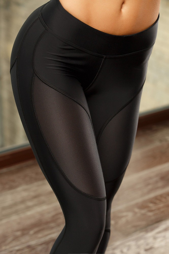 "Oy - Vsyo Leggins ""Black"""